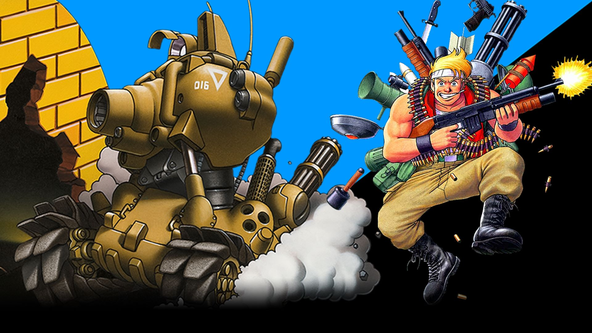 Snk Developing A New Metal Slug For Console Nintendo Wire
