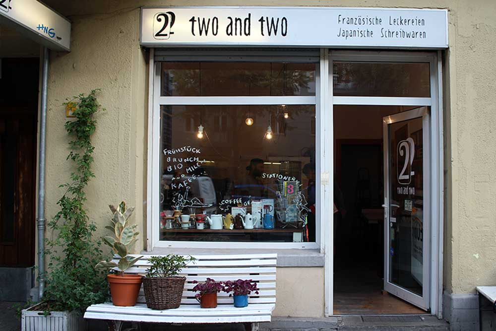 Two and Two – Café et Papeterie – Neukölln