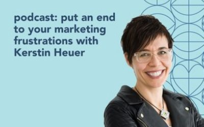 The Small Nonprofit Podcast: Put an end to your marketing frustrations with Kerstin Heuer