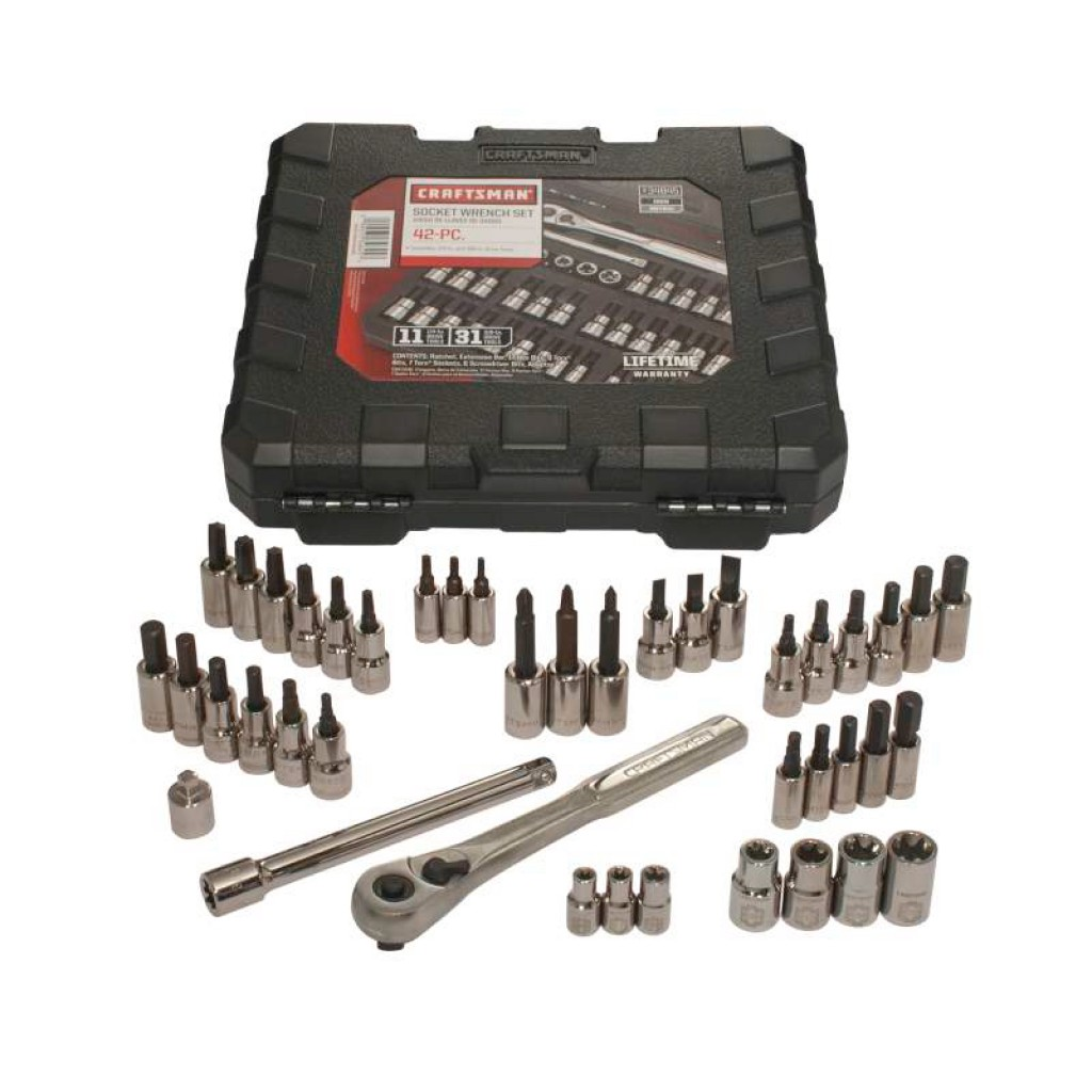 And Bit And 3 4 Bit Drive Torx 42 Craftsman Socket 8 Wrench Set Piece 1