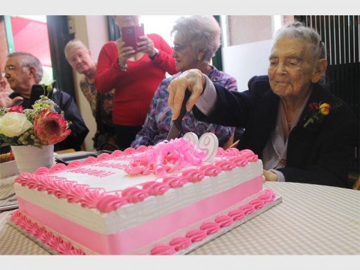 Fresh Grocer Birthday Cake