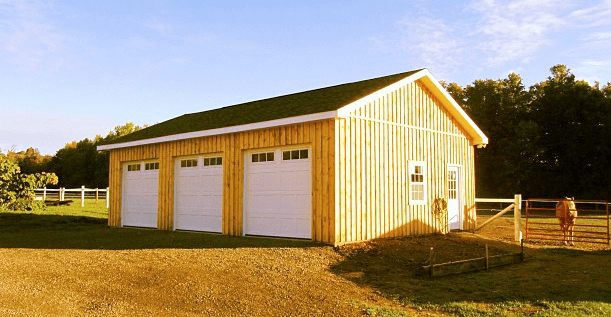 Custom Garages 187 North Country Sheds