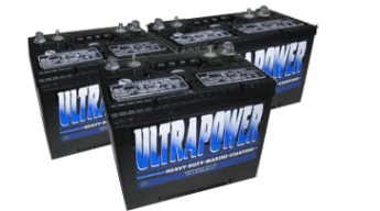 Automotive Batteries and Commercial Batteries   Northeast Battery Ultrapower battery photo of batteries