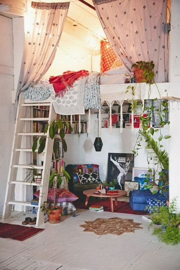 10 Beautiful Bohemian Bedroom Ideas Noted List