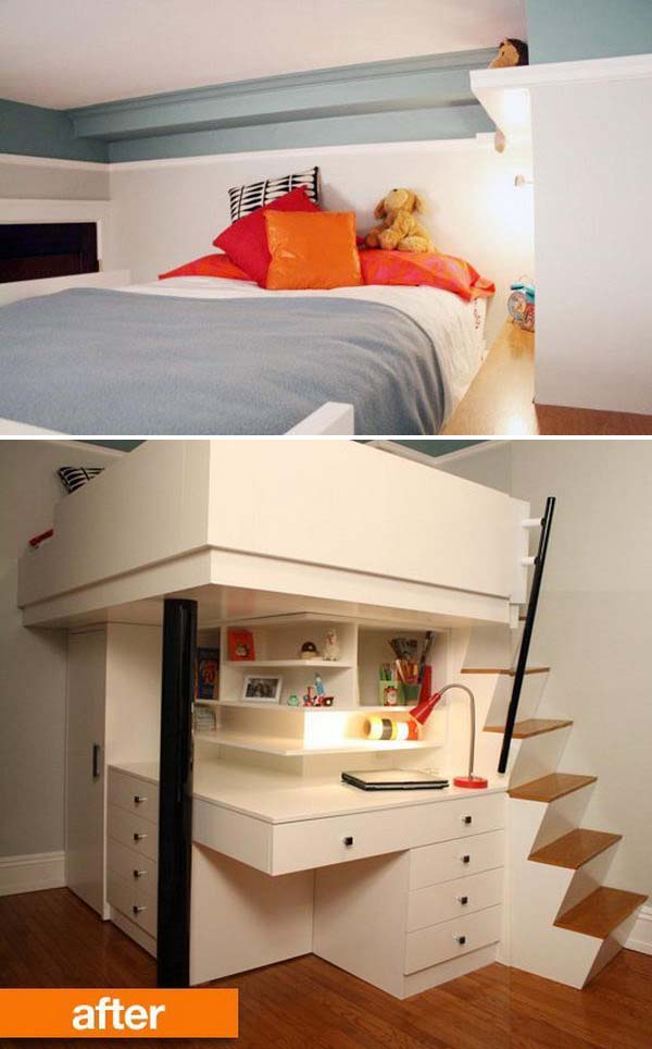 30 Cool Loft Beds For Small Rooms Noted List
