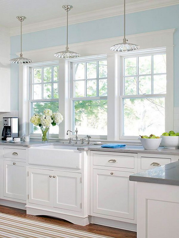 One Sided Galley Kitchen