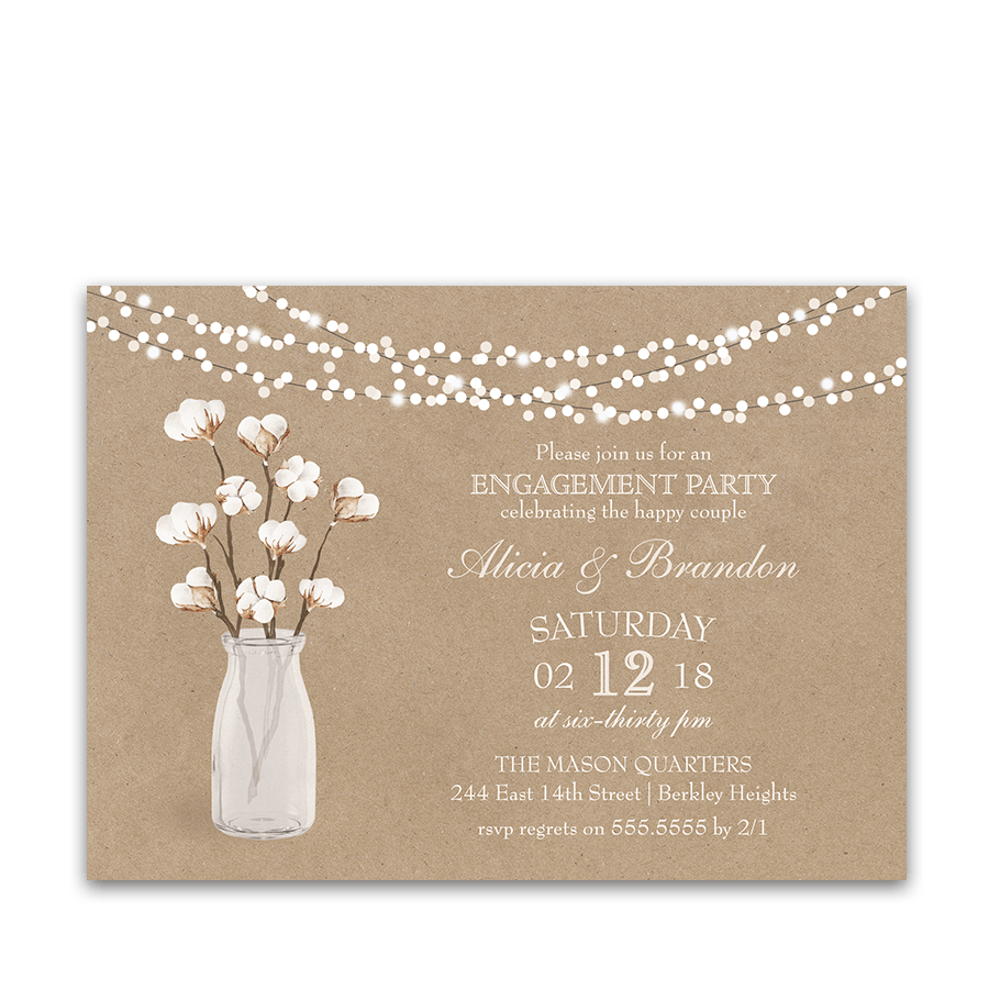 Rustic Wedding Escort Cards