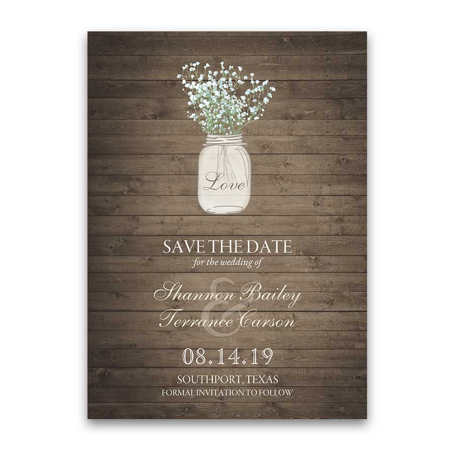 Affordable Save Dates