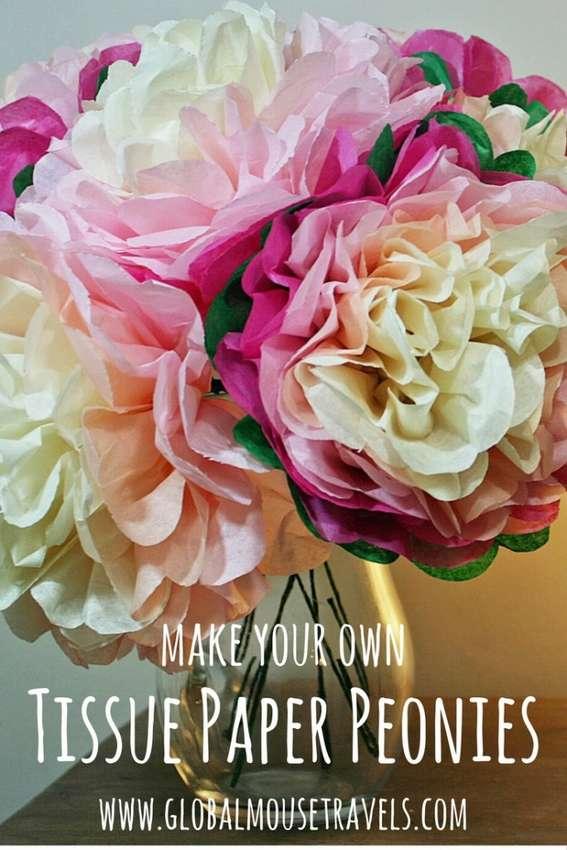 цветы из салфеток своими руками поэтапно