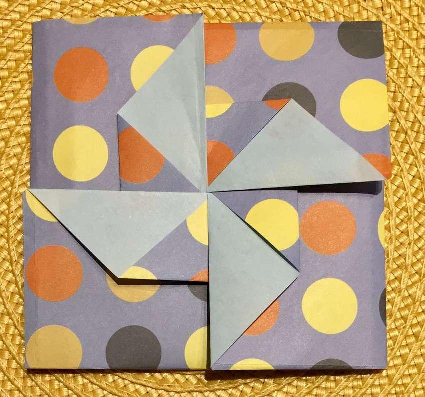конверт оригами Тато