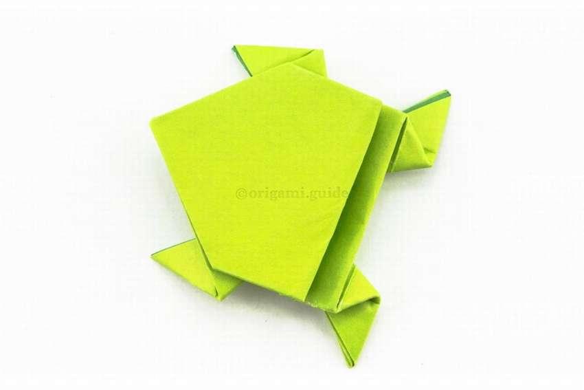Бақадан шығу оригами қағазы