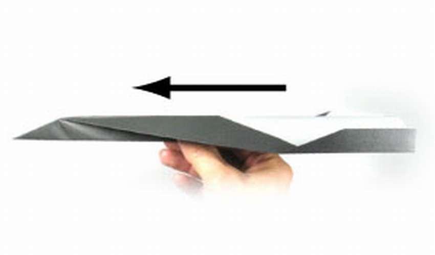 оригами қағаздық ұшақ