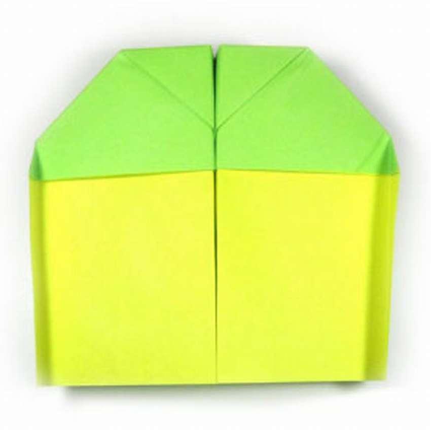 оригами самолет который долго летает
