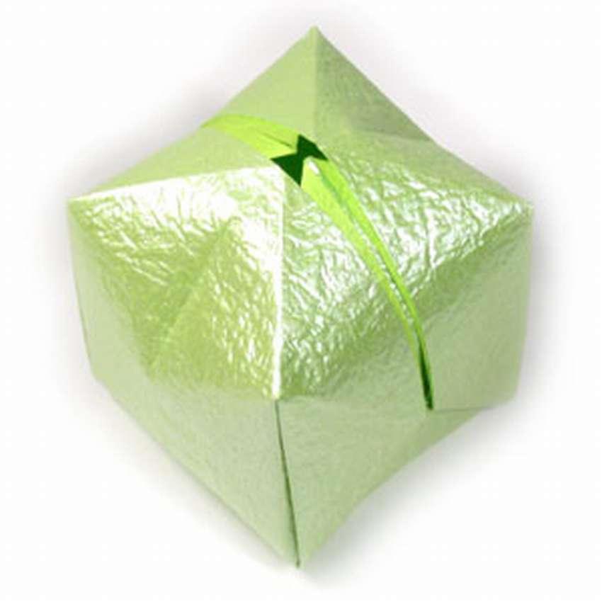 простой шар оригами