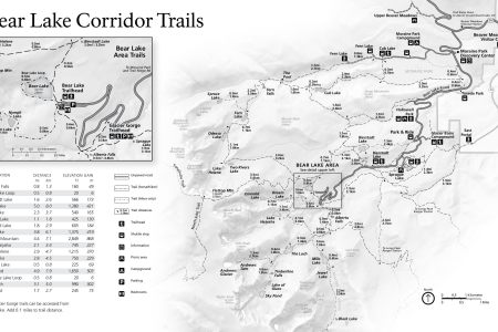 rocky mountain national park trail map » 4K Pictures | 4K Pictures ...