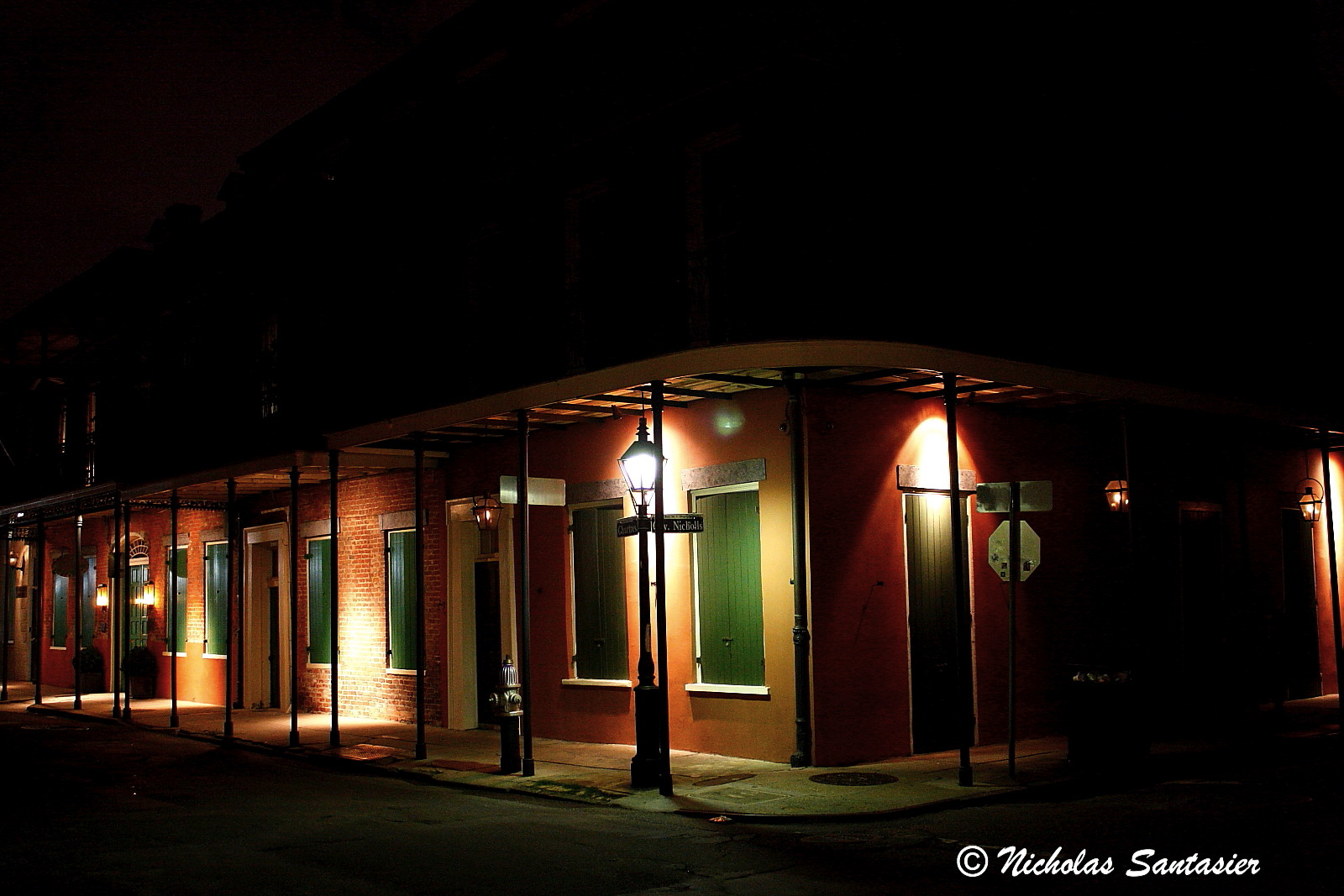 New Orleans At Night Kinda Spooky Visions Of My World
