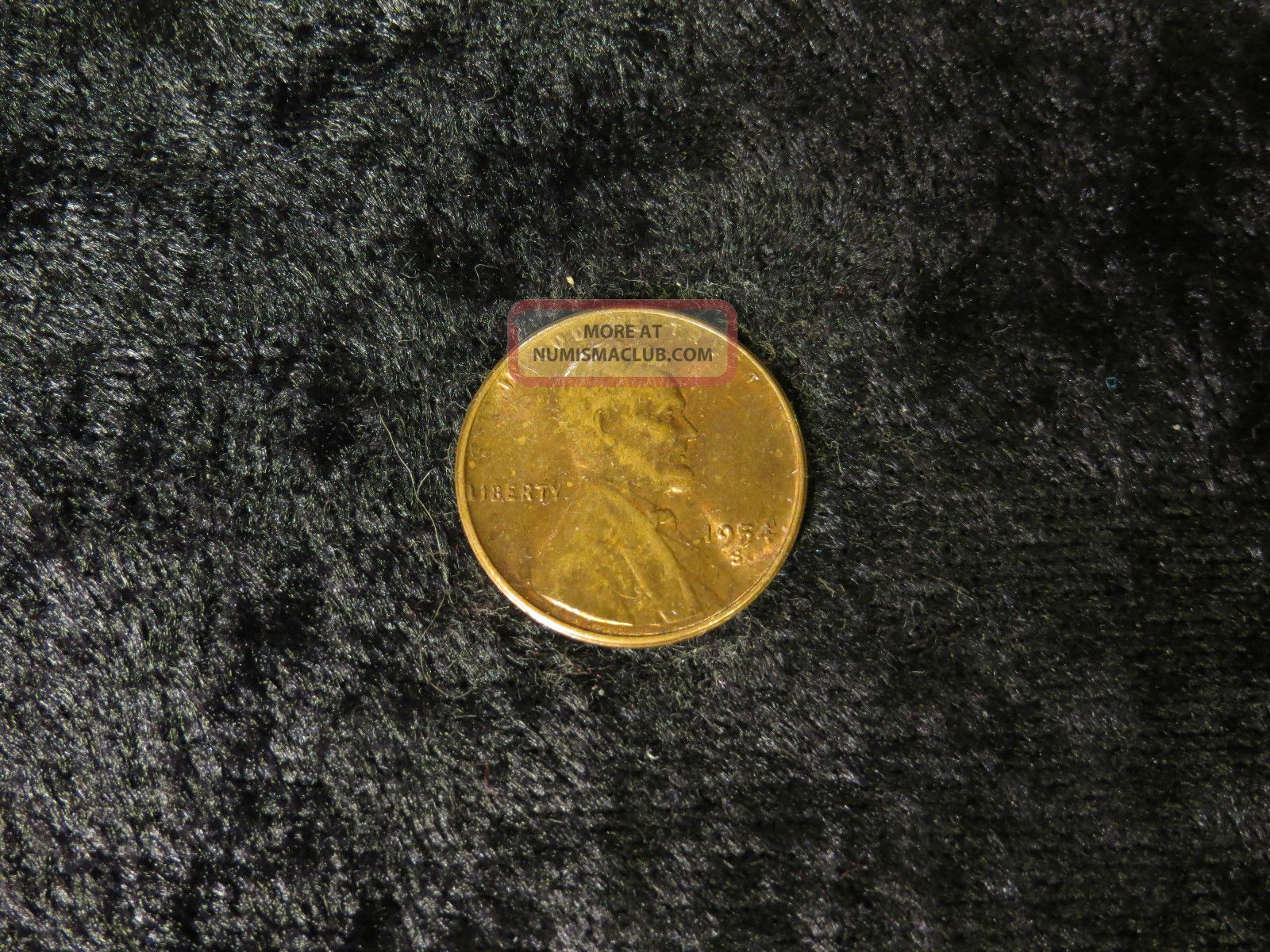 1954 Penny Value Copper