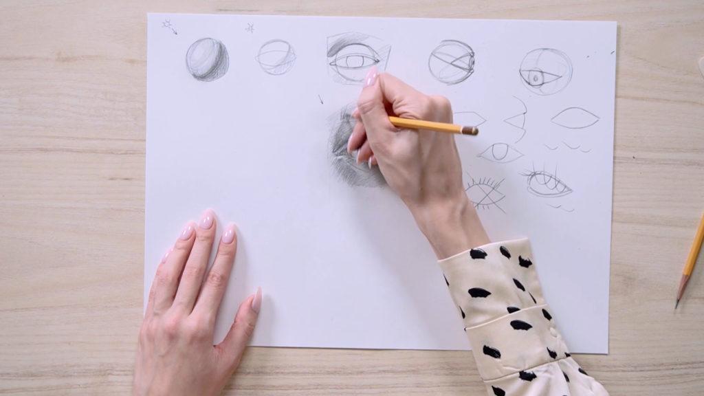 چگونه برای جلب چشم یک مرحله مداد - مرحله 18 - عکس