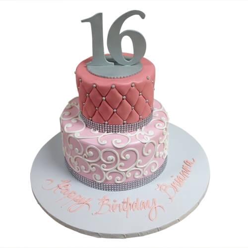 Easy 16th Birthday Cakes
