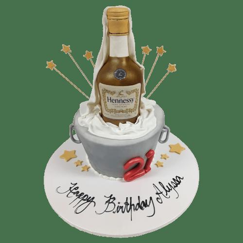 Hennessy Cake Best Custom Birthday Cakes In Nyc