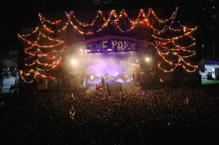 Glastonbury Music Festival public urination threatens wildlife with traces of MDMA
