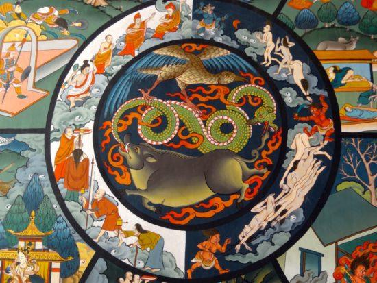 . În Coreea, acest tip de predare are tradiții vechi de secole. Cu toate acestea, o sută două sute de ani în urmă, se părea că această învățătură a fost pierdută. Până la mijlocul secolului al XX-lea. Dar, pe un val de interes în creștere în budismul Zen în Occident, budismul coreean se confruntă, de asemenea, de renașterea sa. Cel mai bun exemplu este Școala de Zen-Quam Um.