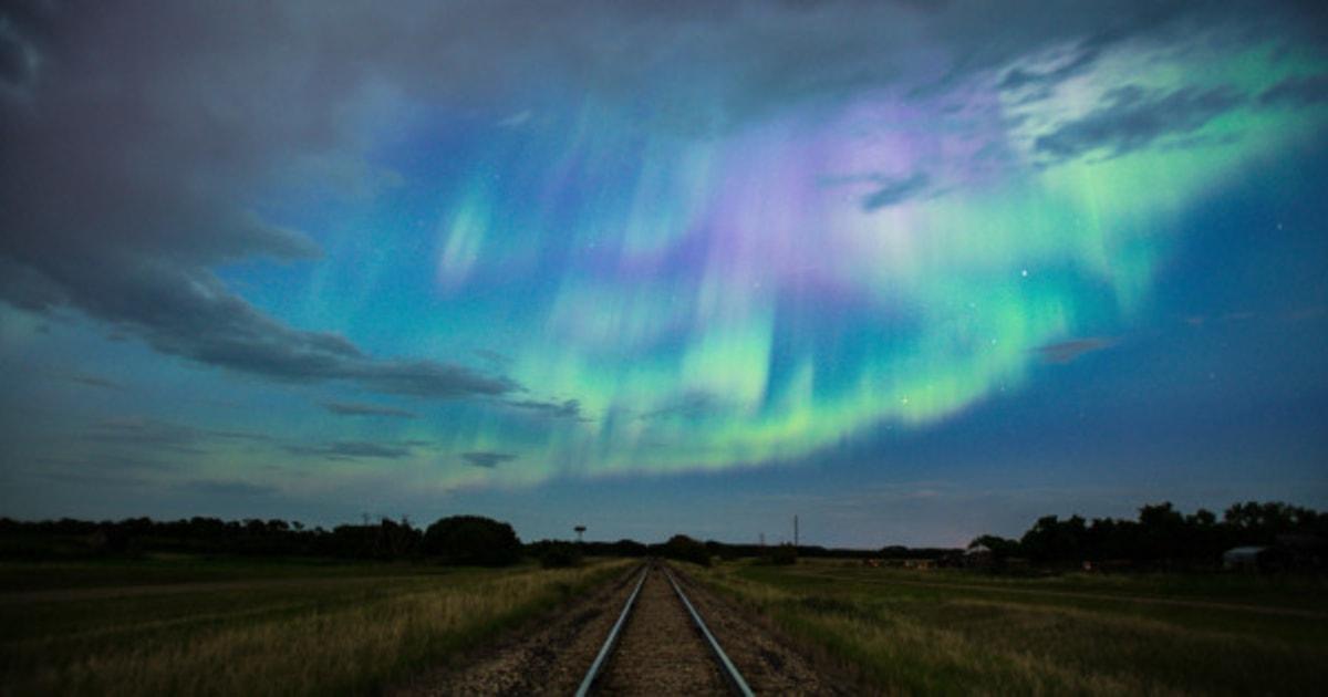 Northern Lights Ontario Canada