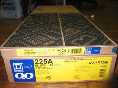 Square D Qo312l125g Three Phase Load Center Panel Box