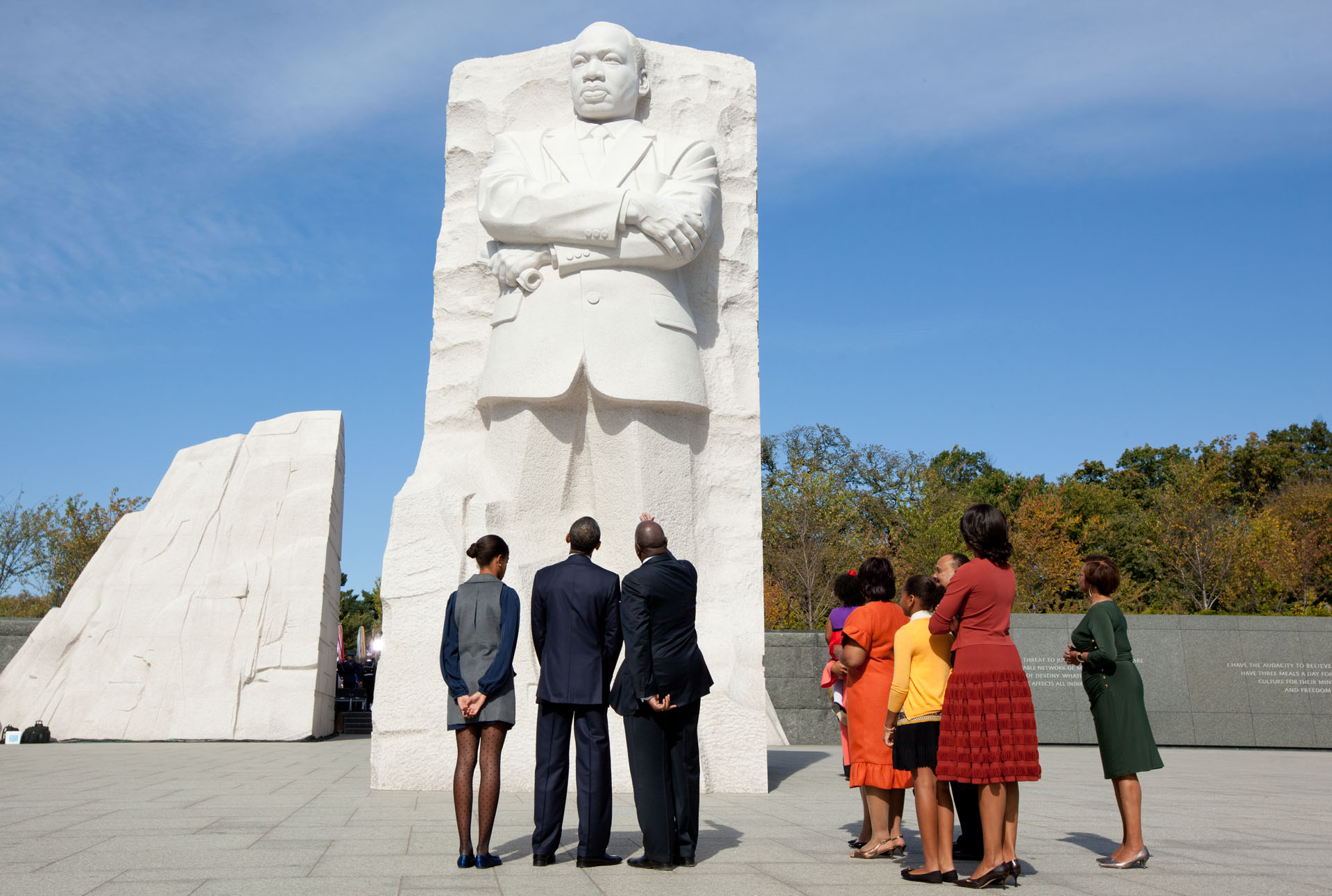 Dr Martin Luther King Monument Dc