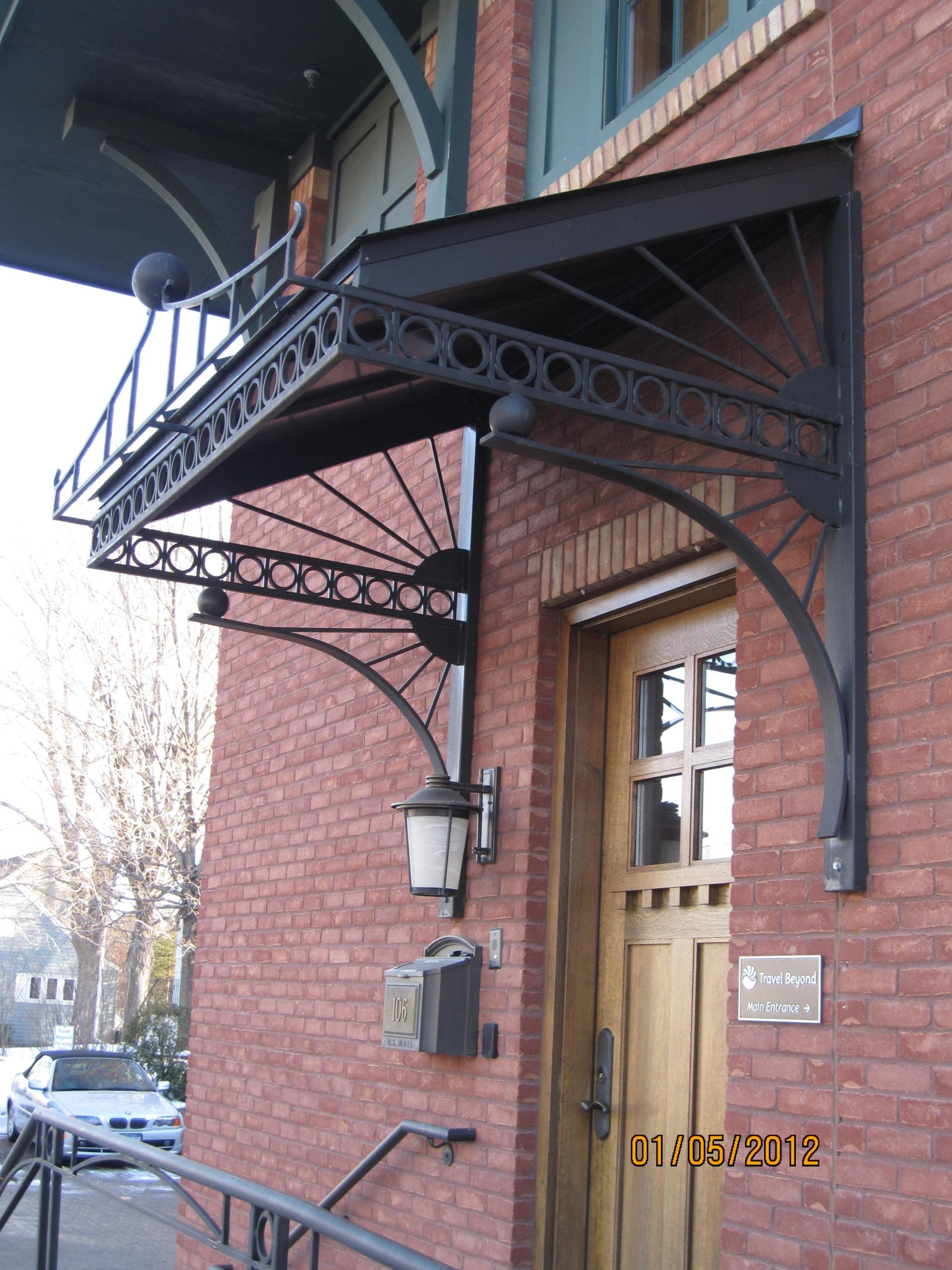 Canopies Amp Awnings O Brien Ornamental Iron