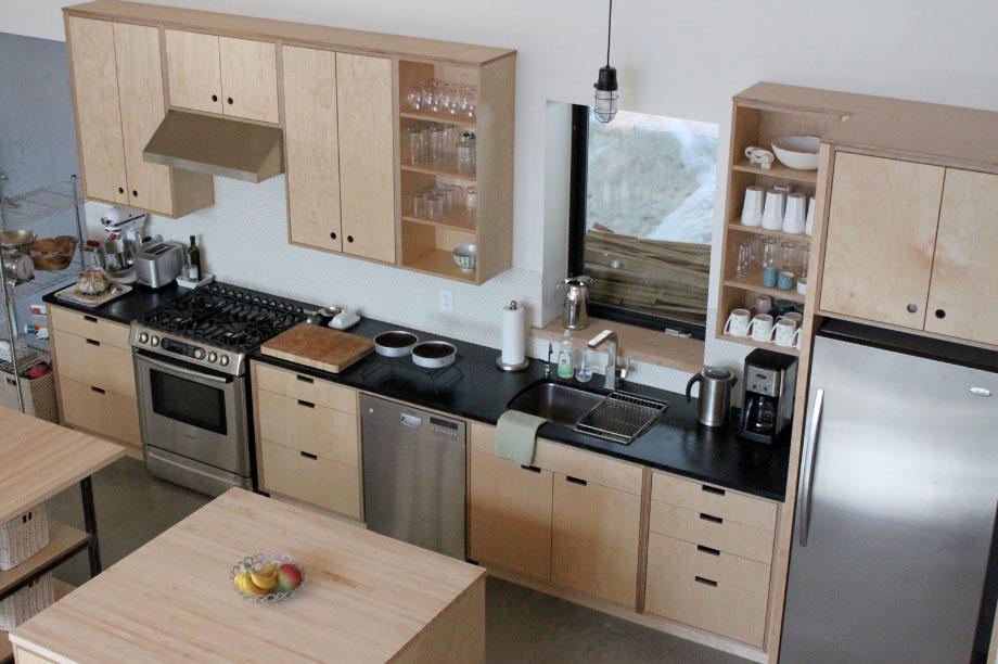 Κουζίνα από κόντρα πλακέ