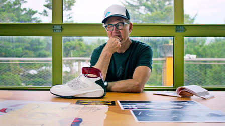 Abstract  The Art of Design   Netflix Official Site Tinker Hatfield  Footwear Design  42m  Tinker Hatfield s background in  architecture and athletics sparked his game changing