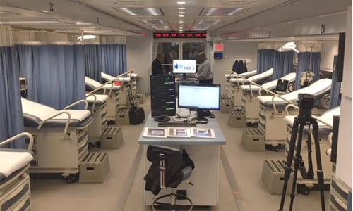 Grady Hospital Opens Mobile Emergency Unit For Flu Care