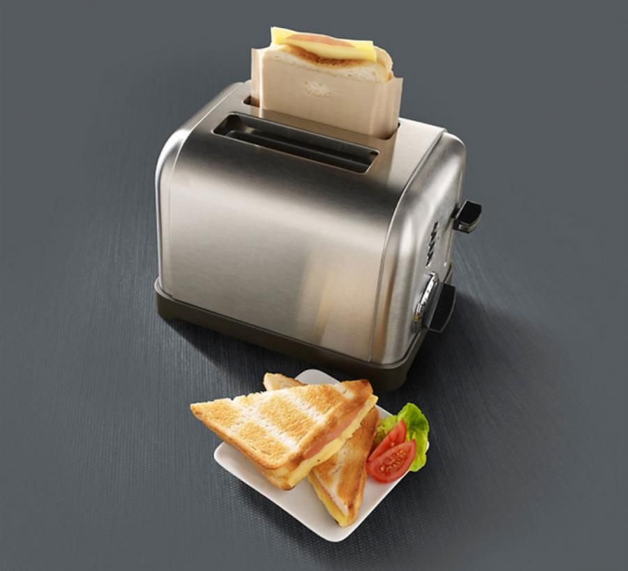 These Little Bags Let You Make Grilled Cheese In Your Toaster