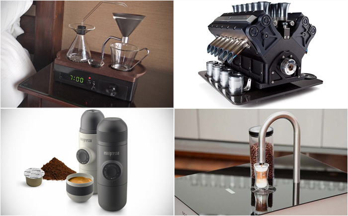 The Most Unusual Coffee Makers In The World
