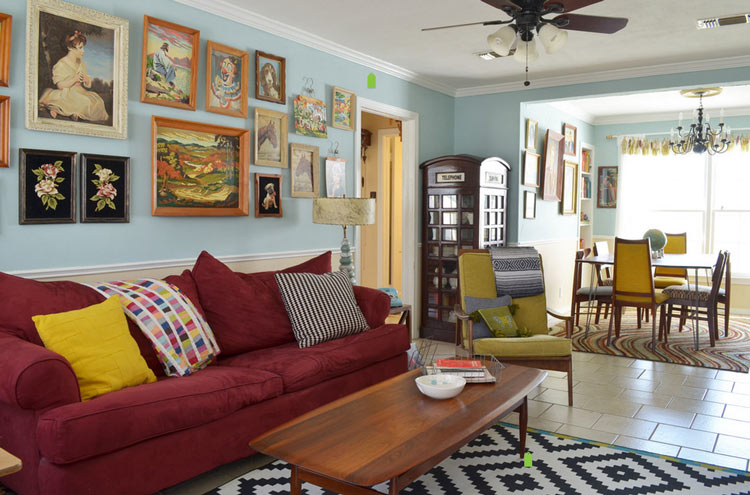 Small Pictures Room Designs Living