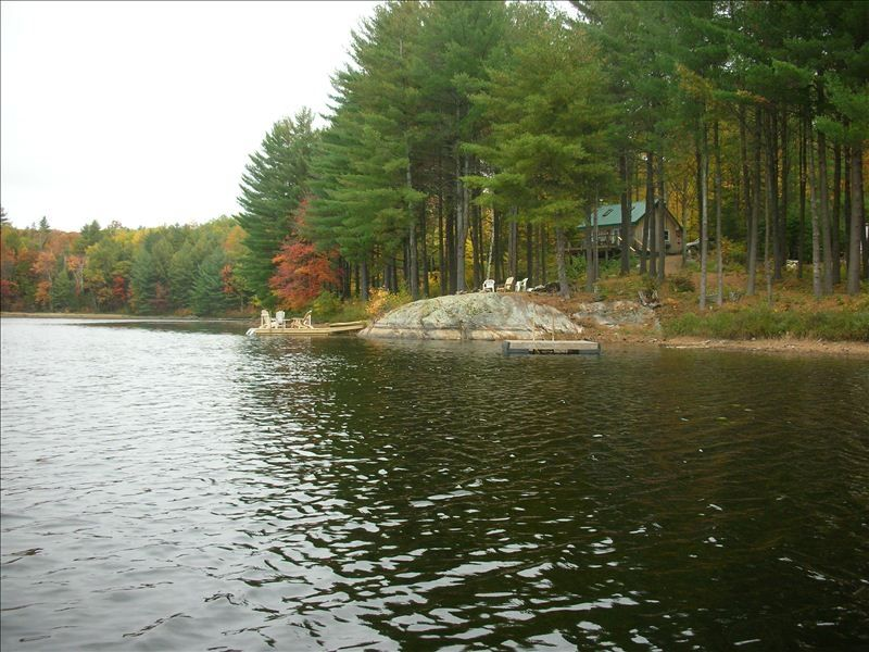 Secluded Cabin On Your Own Private Lake Nestled Among 350