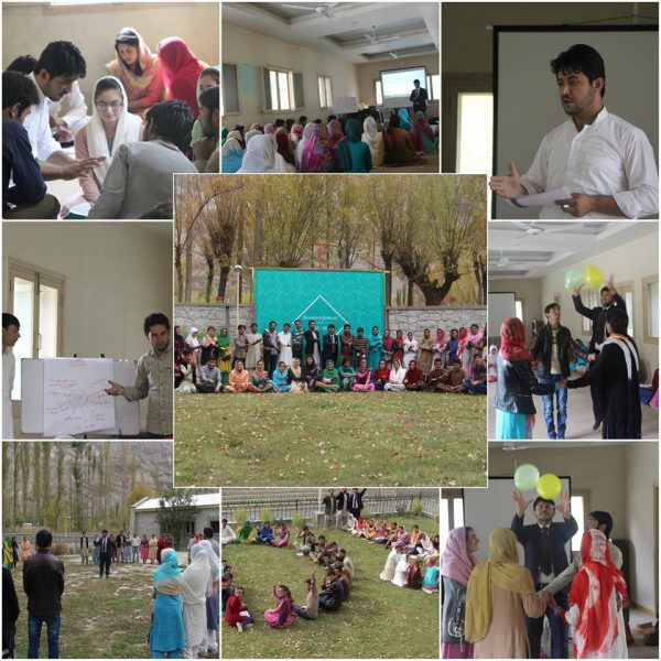 Mr. Arshad Ali, a Fulbright scholar, conducts interactive session with the students of Yaseen valley