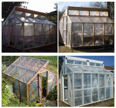 13 Cheap DIY Greenhouse Plans   Off Grid World 13 Cheap DIY Greenhouse Plans