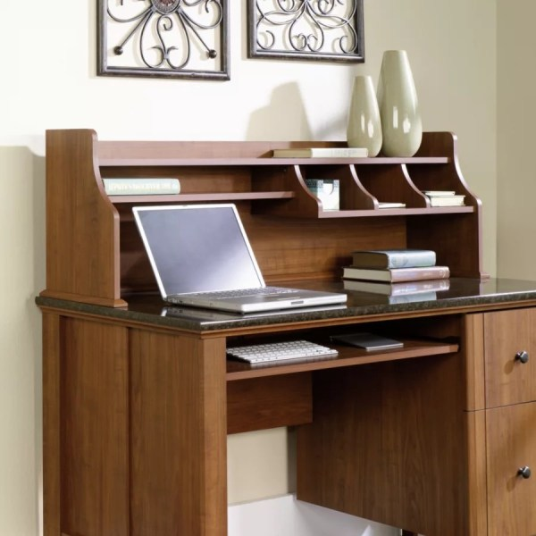 Sauder Appleton Hutch For Computer Desk Sand Pear by Office Depot     Sauder Appleton Hutch For Computer Desk