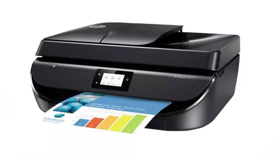 Hp Officejet 5255 All In One Wireless Color Printer M2u75a