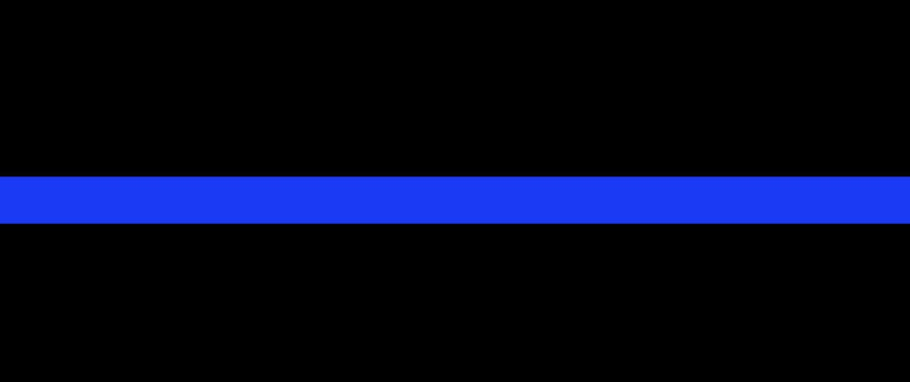 Fallen Police Officer Support Ribbon