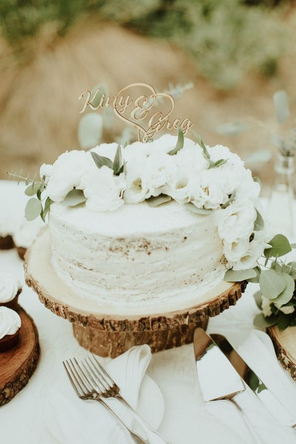 22 Pretty Single Layer Wedding Cakes For 2020 Trends Page 2 Of 2 Oh Best Day Ever