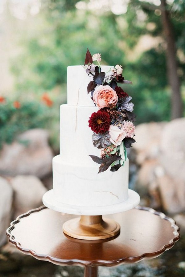 25 Trending Delicious Fall Wedding Cakes For 2020 Page 2