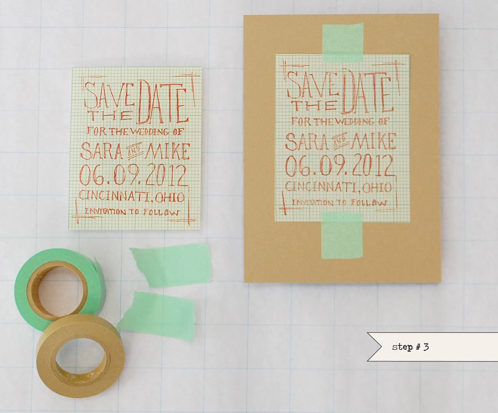 Design Own Save Date Cards