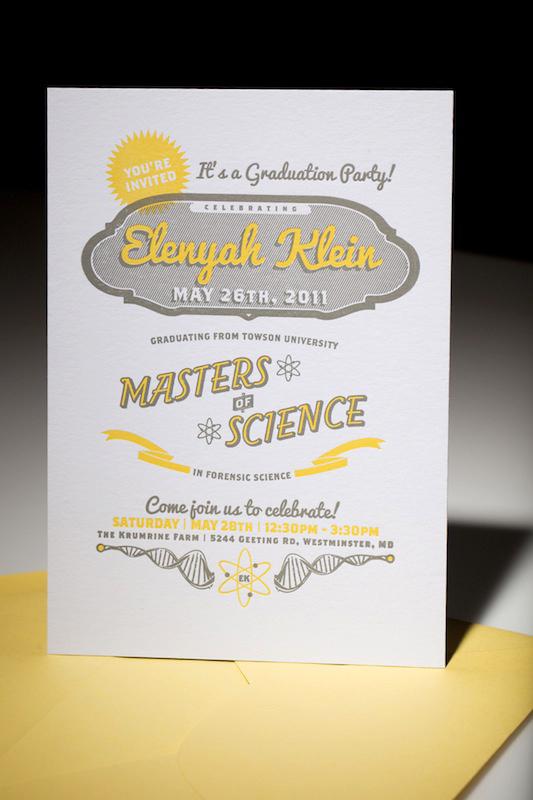 Quick Graduation Party Invitations
