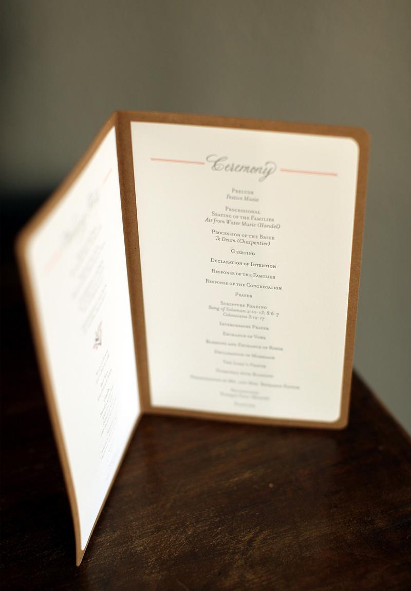 Rustic Pocket Wedding Invitations