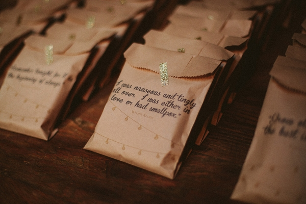 Wedding Stationery Inspiration Treat Bags