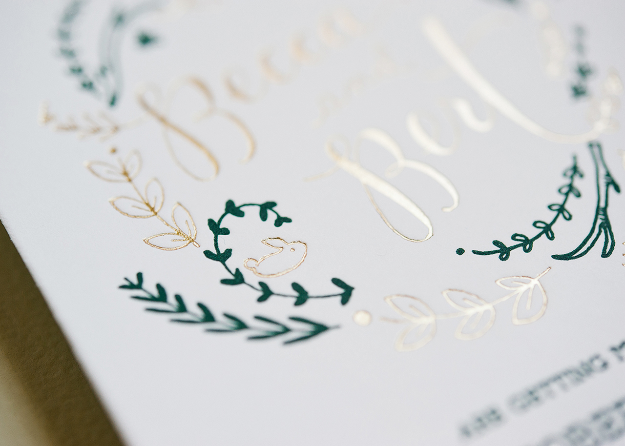 Personalized Save Date Invitations