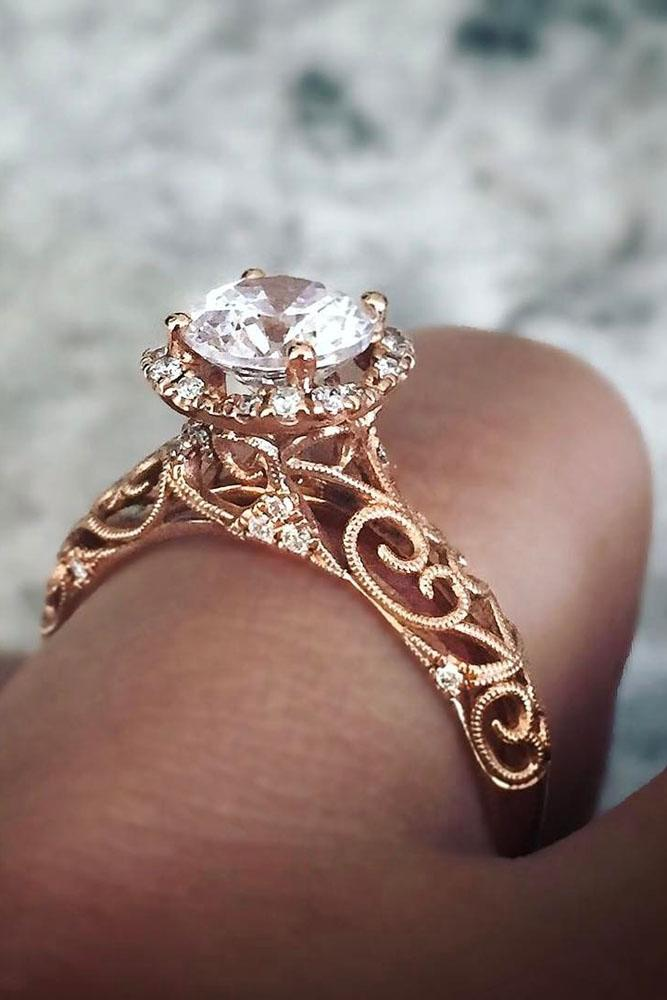 Yellow Gold Love Ring
